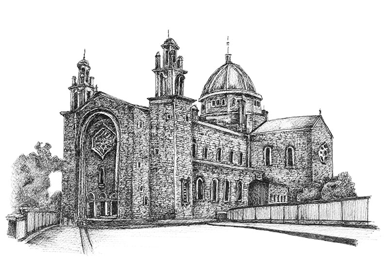 Galway Cathedral Fiona Conannon Artist web